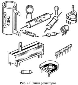 Резисторы (отечественные до 2009 года, 1